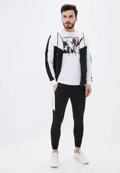 Костюм спортивный, Aarhon, цвет: мультиколор, черный. Артикул: AA002EMJGLI9. Одежда / Спортивные костюмы