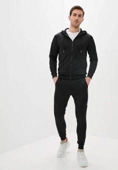Костюм спортивный, Aarhon, цвет: черный. Артикул: AA002EMJGLJ9. Одежда / Спортивные костюмы