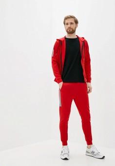 Костюм спортивный, Aarhon, цвет: красный. Артикул: AA002EMJGLK1. Одежда / Спортивные костюмы