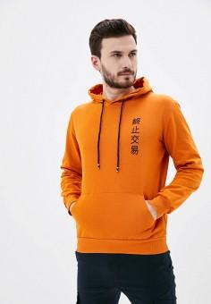 Худи, Aarhon, цвет: оранжевый. Артикул: AA002EMJGLK7. Одежда