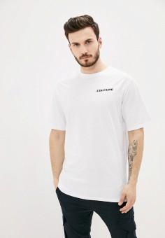 Футболка, Aarhon, цвет: белый. Артикул: AA002EMJGLP6. Одежда / Футболки и поло