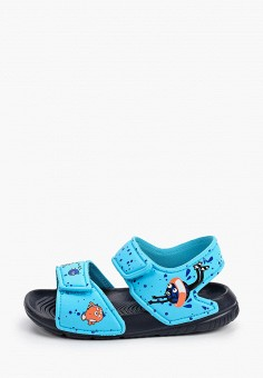 Сандалии, adidas, цвет: голубой. Артикул: AD002ABHZWH4. Новорожденным
