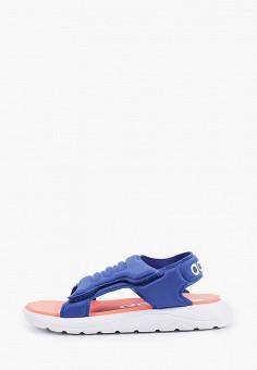 Сандалии, adidas, цвет: синий. Артикул: AD002ABHZWH6. Мальчикам / Обувь