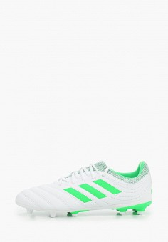 Бутсы, adidas, цвет: белый. Артикул: AD002ABJFPR2. Мальчикам / Обувь / Кроссовки и кеды