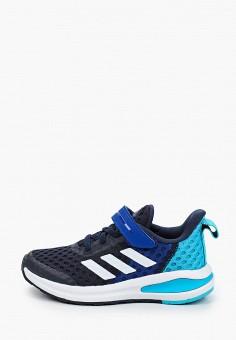 Кроссовки, adidas, цвет: синий. Артикул: AD002ABJMGF8. Мальчикам / Обувь / Кроссовки и кеды