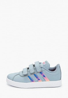 Кеды, adidas, цвет: синий. Артикул: AD002ABJMGL0. Мальчикам / Обувь / Кроссовки и кеды