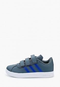 Кеды, adidas, цвет: синий. Артикул: AD002ABJMGL1. Мальчикам / Обувь / Кроссовки и кеды
