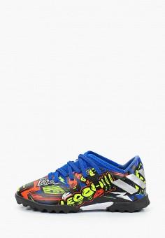 Шиповки, adidas, цвет: мультиколор. Артикул: AD002ABJMGQ0. Мальчикам / Обувь / Кроссовки и кеды