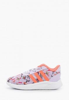 Кроссовки, adidas, цвет: фиолетовый. Артикул: AD002AGHZWJ2. Девочкам / Спорт