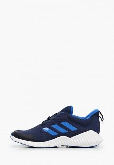 Кроссовки, adidas, цвет: синий. Артикул: AD002AKJFPQ4. Мальчикам / Обувь / Кроссовки и кеды