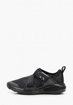 Кроссовки, adidas, цвет: черный. Артикул: AD002AKJMGG0. Девочкам / Обувь