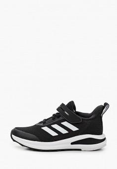 Кроссовки, adidas, цвет: черный. Артикул: AD002AKJMGG5. Девочкам / Спорт