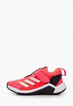 Кроссовки, adidas, цвет: розовый. Артикул: AD002AKJMGI9. Девочкам / Спорт