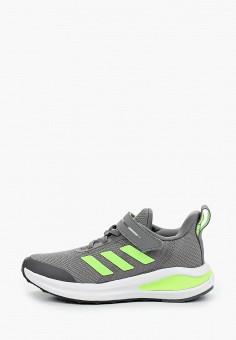 Кроссовки, adidas, цвет: серый. Артикул: AD002AKJMGO5. Мальчикам / Обувь / Кроссовки и кеды