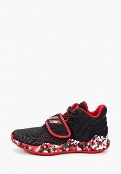 Кроссовки, adidas, цвет: черный. Артикул: AD002AKJMHA7. Мальчикам / Обувь / Кроссовки и кеды