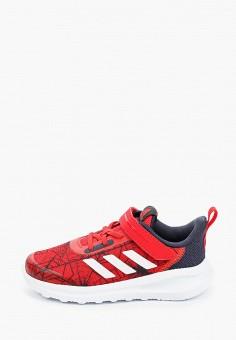 Кроссовки, adidas, цвет: красный. Артикул: AD002AKJMHA8. Мальчикам / Обувь / Кроссовки и кеды