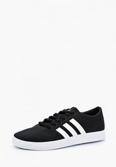 Кеды, adidas, цвет: черный. Артикул: AD002AMALQX9. Обувь / Кроссовки и кеды / Кеды