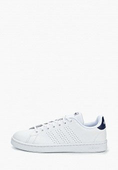 Кеды, adidas, цвет: белый. Артикул: AD002AMEEFK4. Обувь / Кроссовки и кеды / Кеды