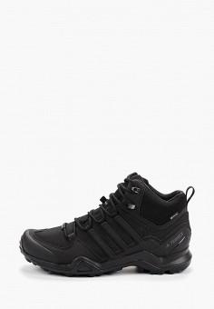 Ботинки трекинговые, adidas, цвет: черный. Артикул: AD002AMFKBE2. Обувь / Ботинки