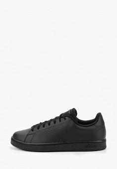 Кеды, adidas, цвет: черный. Артикул: AD002AMFKSL6. Обувь / Кроссовки и кеды