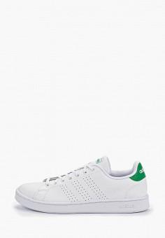 Кеды, adidas, цвет: белый. Артикул: AD002AMFKTH0. Обувь