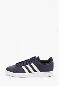 Кеды, adidas, цвет: синий. Артикул: AD002AMFYFQ7. Обувь / Кроссовки и кеды / Кеды