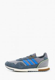 Кроссовки, adidas, цвет: серый. Артикул: AD002AMHLMB3. Обувь / Кроссовки и кеды / Кроссовки / Низкие кроссовки