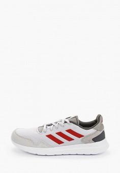 Кроссовки, adidas, цвет: серый. Артикул: AD002AMHLME6. Обувь / Кроссовки и кеды