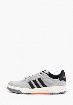 Кеды, adidas, цвет: серый. Артикул: AD002AMHLMJ8. Обувь / Кроссовки и кеды / Кеды