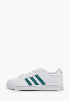 Кеды, adidas, цвет: белый. Артикул: AD002AMHLMV2. Обувь / Кроссовки и кеды / Кеды