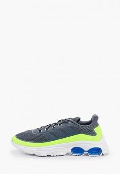 Кроссовки, adidas, цвет: серый. Артикул: AD002AMHLMZ9. Обувь / Кроссовки и кеды / Кроссовки / Низкие кроссовки