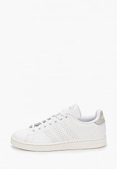 Кеды, adidas, цвет: белый. Артикул: AD002AMIYOY4. Обувь / Кроссовки и кеды