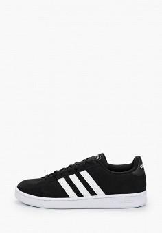 Кеды, adidas, цвет: черный. Артикул: AD002AMIYOZ7. Обувь / Кроссовки и кеды / Кеды