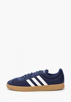 Кеды, adidas, цвет: синий. Артикул: AD002AMIYPB2. Обувь / Кроссовки и кеды / Кеды
