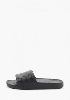 Сланцы, adidas, цвет: черный. Артикул: AD002AUFKBY8. Обувь / Резиновая обувь