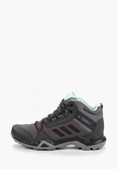 Ботинки трекинговые, adidas, цвет: серый. Артикул: AD002AWFKTN3. Обувь / Ботинки