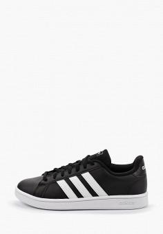 Кеды, adidas, цвет: черный. Артикул: AD002AWFKTO3. Обувь