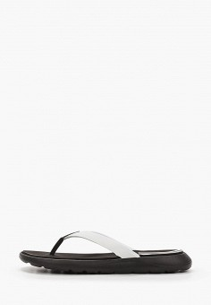 Сланцы, adidas, цвет: белый. Артикул: AD002AWHLNW5. Обувь / Резиновая обувь