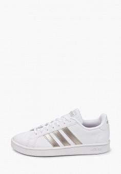 Кеды, adidas, цвет: белый. Артикул: AD002AWIYPC7. Обувь