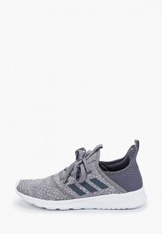 Кроссовки, adidas, цвет: серый. Артикул: AD002AWJFOQ8. Обувь