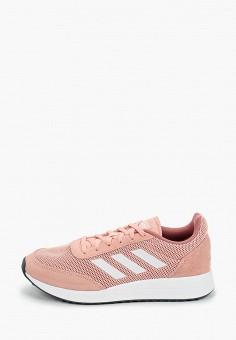 Кроссовки, adidas, цвет: розовый. Артикул: AD002AWJFOR0. Обувь