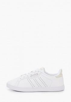 Кеды, adidas, цвет: белый. Артикул: AD002AWJMKL9. Обувь