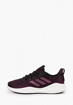 Кроссовки, adidas, цвет: фиолетовый. Артикул: AD002AWJMLS5. Обувь / Кроссовки и кеды