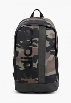 Рюкзак, adidas, цвет: зеленый. Артикул: AD002BWHLBP3. Аксессуары / Рюкзаки / Рюкзаки