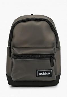 Рюкзак, adidas, цвет: серый. Артикул: AD002BWJNCA6. Аксессуары / Рюкзаки