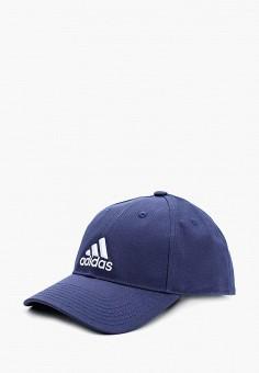 Бейсболка, adidas, цвет: синий. Артикул: AD002CUALSH7. Аксессуары / Головные уборы