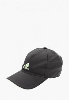 Бейсболка, adidas, цвет: серый. Артикул: AD002CUFKNG2. Аксессуары / Головные уборы