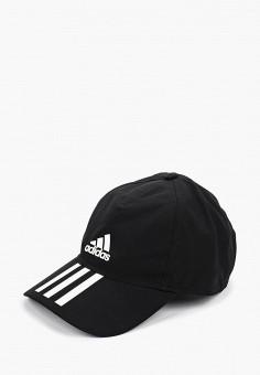 Бейсболка, adidas, цвет: черный. Артикул: AD002CUFKRJ2. Аксессуары / Головные уборы