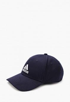 Бейсболка, adidas, цвет: синий. Артикул: AD002CUHLBD6. Аксессуары / Головные уборы