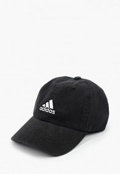 Бейсболка, adidas, цвет: черный. Артикул: AD002CUHLBG1. Аксессуары / Головные уборы